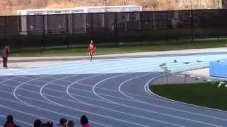 Icahn Stadium 2015 Bantam girls 400m - Kera Taffe