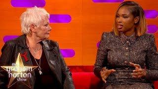 Dame Judi Dench & Jennifer Hudson On Filming Cats   The Graham Norton Show