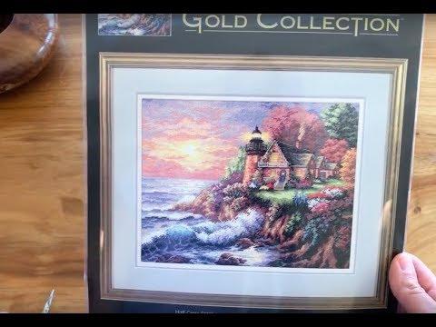 1. Вышивка Крестом. Моя коллекция наборов от Dimensions Gold Collections