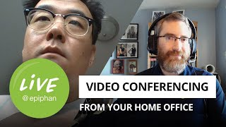 Best home office video conference setup