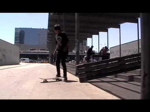Skate Tgn@- Un día improvisado