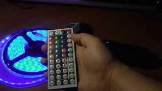 TinyDeal - Светодиодная лента RGB + Пульт ДУ  + Блок питания(Катушка с 5 метрами водостойкой светодиодной ленты RGB ..., 2014-03-11T22:16:46.000Z)