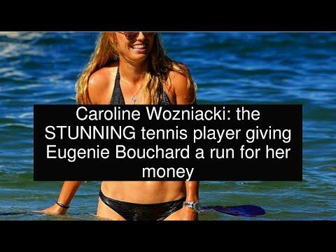 Caroline Wozniacki: the STUNNING tennis player giving Eugenie Bouchard a run for her money