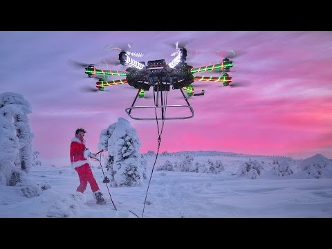 WORLDS LARGEST HOMEMADE DRONE