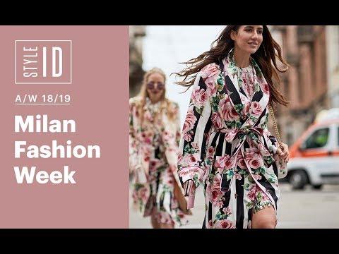 Style ID: Milan Fashion Week A/W 18/19