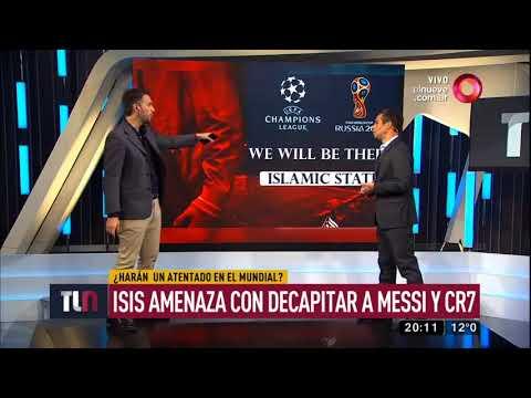 ISIS amenaza con decapitar a Messi y a Cristiano Ronaldo