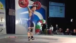 2010 European Weightlifting Championships, 69 kg class
