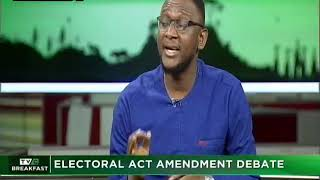 TVC Breakfast 13th Dec. 2018 | Electoral Act Amendment