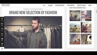 Brixton Wordpress Theme Review & Demo | Responsive WordPress Blog Theme | Brixton Price & How to Install