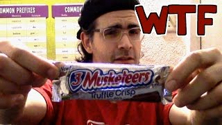 WTF: 3 Musketeers Truffle Crisp Candy Bar *Gas Station Gold* | FreakEating Expired Foods