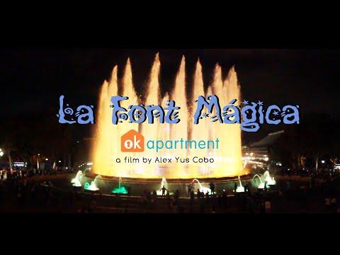 Barcelona Magic Fountain of Montjuïc (Font màgica)