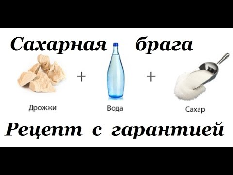 Сахарная брага рецепт с гарантией