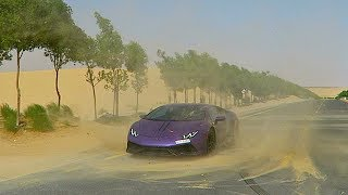 LAMBORGHINI STUCK IN SANDSTORM !!!