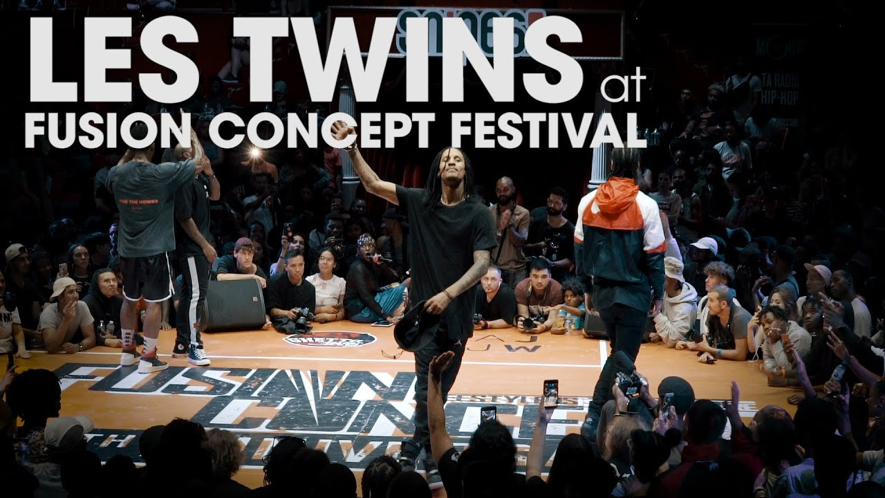 LES TWINS at Fusion Concept Festival 2019 // .stance