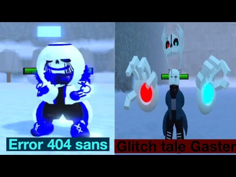 Undertale Au Monster Survive Fight Update By Glich Min Roblox Roblox Undertale Au Survive Monster Fight New Error 404 Update And Glitch Tale Gaster Revamp Youtube