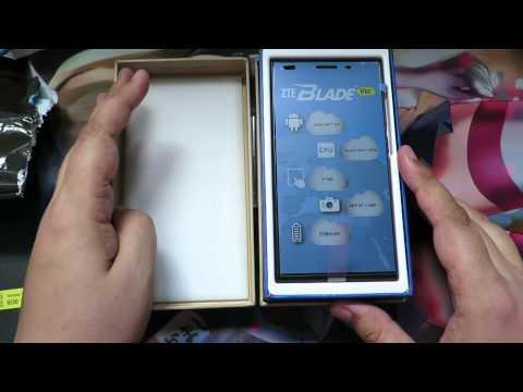 ZTE Blade Vec 3G Unboxing