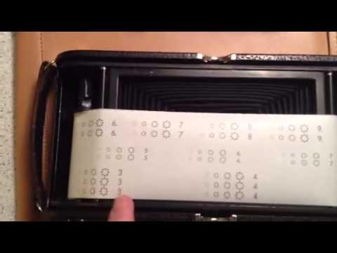 Kodak 3A Using 120 Roll Film - Frame Spacing 1,3,5,7