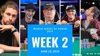 The Biggest News from World Series of Poker 2019 Week 2