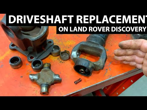 Replacing Land Rover Discovery II Front Driveshaft