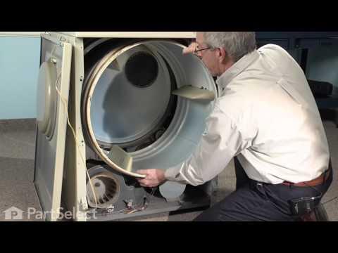 Dryer Repair - Replacing the Tumbler & Motor Belt (Whirlpool Part # Y312959)
