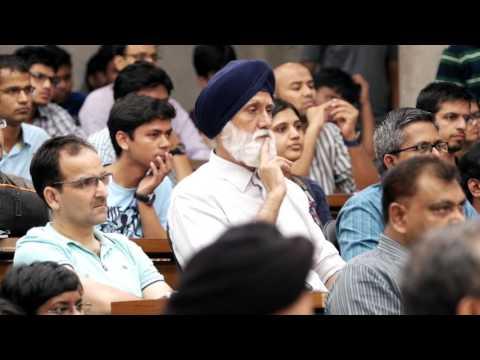 Guru Speak at IIM Ahmedabad