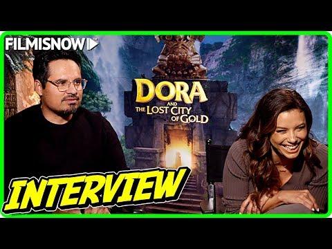 dora-and-the-lost-city-of-gold- -eva-longoria-&-michael-peña-talk-about-the-movie