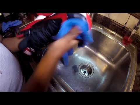 Cleaning My Nike Team Hustle Tennis Shoes- DIY How To Clean Your Shoes In Under 5 Minutes!