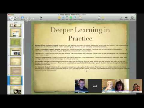 Mid Pacific Institute's Work with Deeper Learning -- A Conversation with Dr. Mark Hines [Google R...