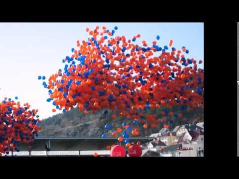 uçan balon sürprizi