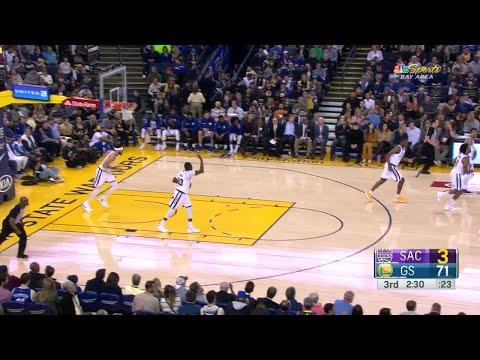 3rd Quarter, One Box Video: Golden State Warriors vs. Sacramento Kings