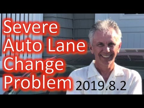 tesla-auto-lane-change-severe-problem-with-2019.8.2