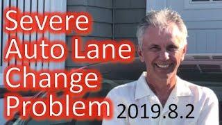 Tesla Auto Lane Change Severe Problem with 2019.8.2
