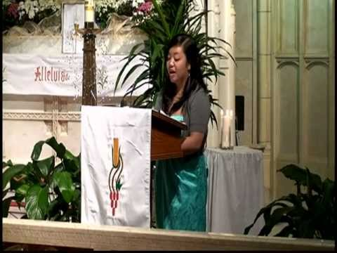 Ave Maria (Santiago) Tracy Sarmiento, St. Patrick's Church, San Francisco USA Wedding