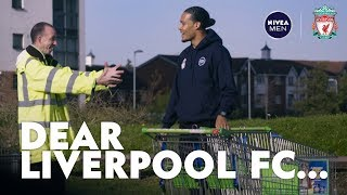 Virgil Van Dijk surprises lifelong Liverpool fan at work | 'Alright Virgil lad?'