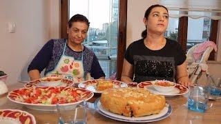Tekirdağ'da Anne Yemekleri Yedik - Ekşili Sulu Köfte ve Perde Pilavı - VLOG 1
