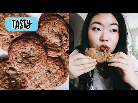 🍪Trying the Perfect Chocolate Chip Cookie Recipe by Tasty