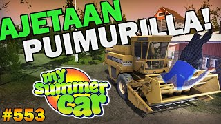My Summer Car 553  Ajetaan Puimurilla  Uusi Päivitys