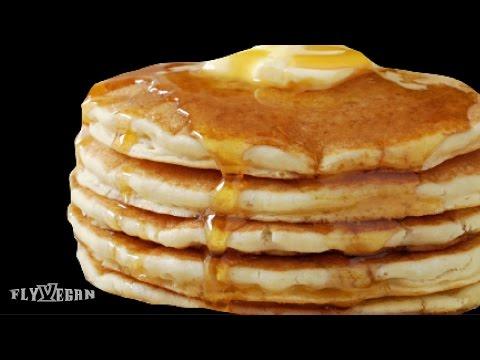 Fluffy Pancakes 3 Ways (Vegan)
