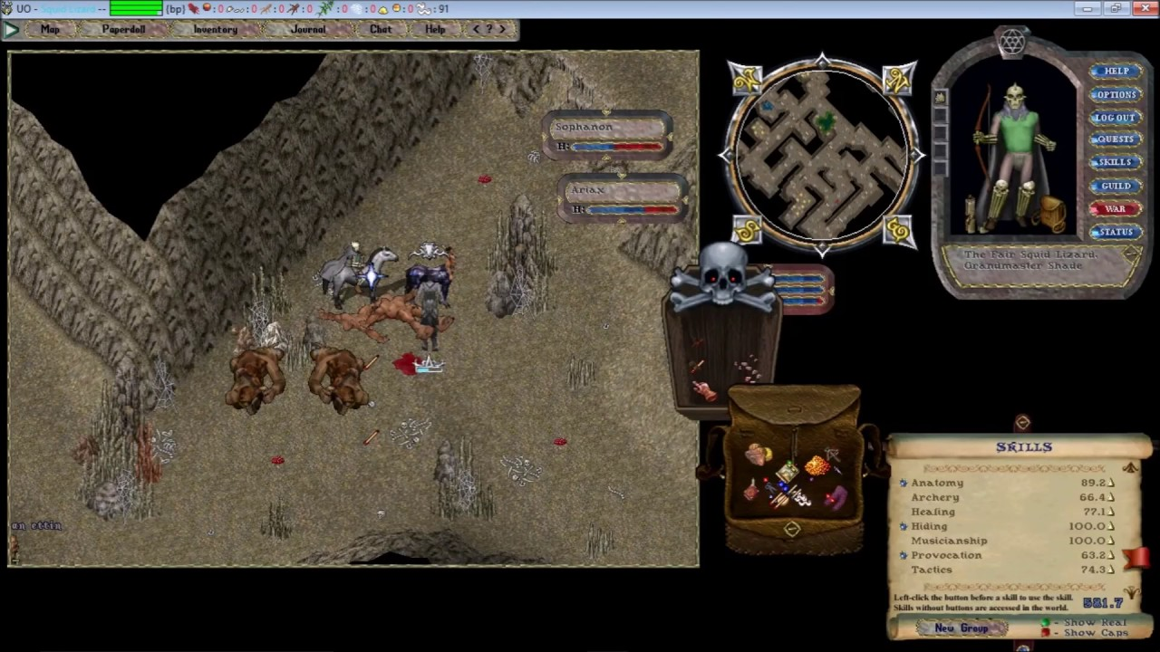 Let's Play Ultima Online Forever - Archer/Provo POWER  Fun Times!!!