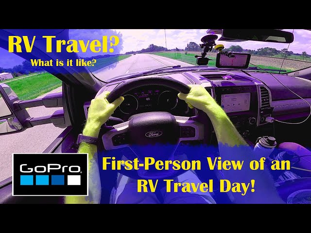 What is Travel Day Like? | Living in an RV! | GoPro Action Film