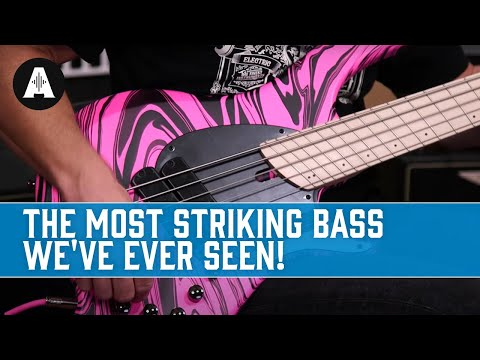 Unboxing The Limited Edition Dingwall NG-2 In Pink Swirl - The Most Striking Bass We've Ever Seen!