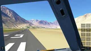 Tricky Approach @ Gilgit Airport (OPGT) RWY07