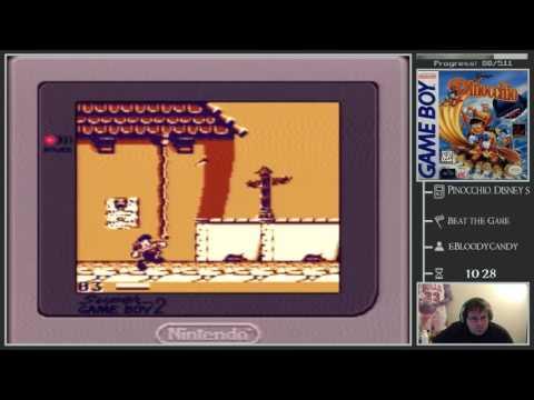 [Game Boy Adventure] 82/581 (13%) - Disney's Pinocchio