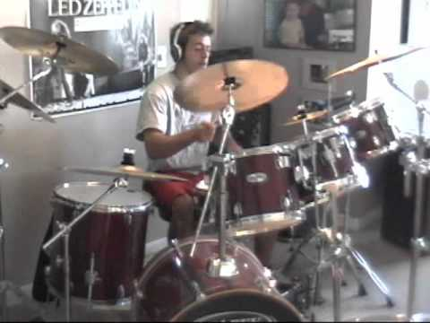 pearl jam drum cover rearviewmirror youtube. Black Bedroom Furniture Sets. Home Design Ideas