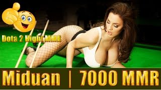 Dota 2 Miduan 7000 MMR  Queen of Pain Ranked Match Gameplay!
