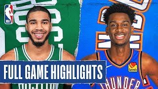 CELTICS at THUNDER | FULL GAME HIGHLIGHTS | February 9, 2020