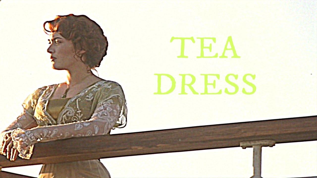 Titanic Rose S Tea Dress Youtube