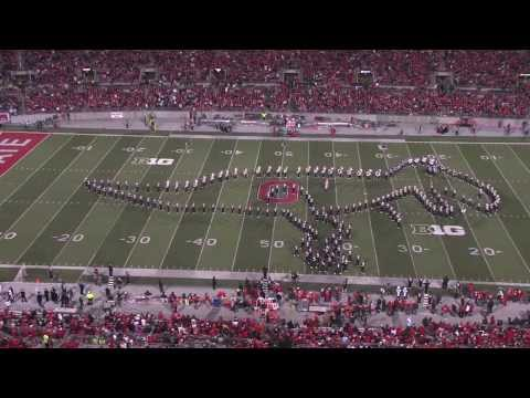 2ND PART The Ohio State University Marching Band Performs Their Hollywood Blockbuster Show