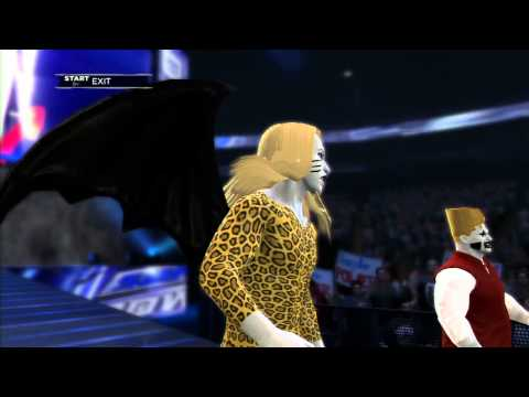 WWE 2k13 - Team DMC (Detroit Metal City)