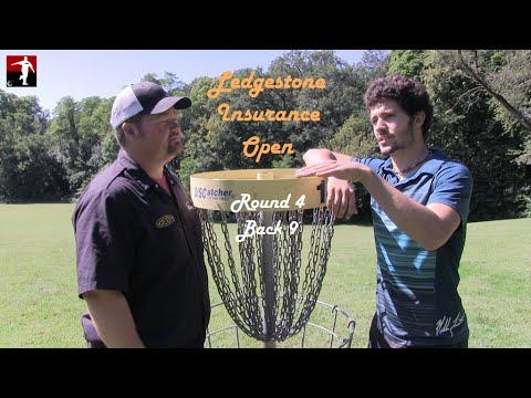 The Disc Golf Guy - Vlog #235 - Nikko Locastro, Tim Barham, Tyler Horne, JohnE McCray Rnd 4 Back 9